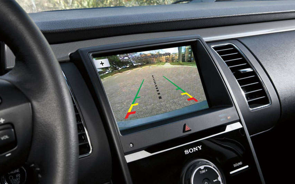 Rear View Camera with Backup Assist Grid Lines