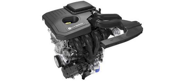 2.0L iVCT Atkinson-cycle I-4 Engine and Electric Motor