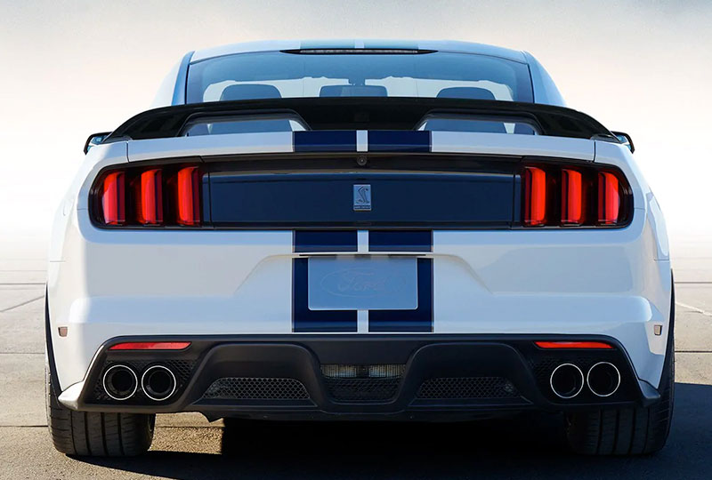 2019 Mustang Shelby GT350 Technology