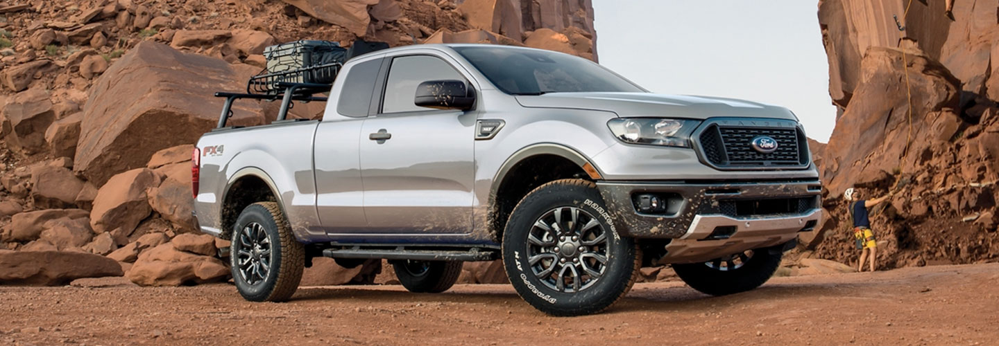 2020 ford Ranger header