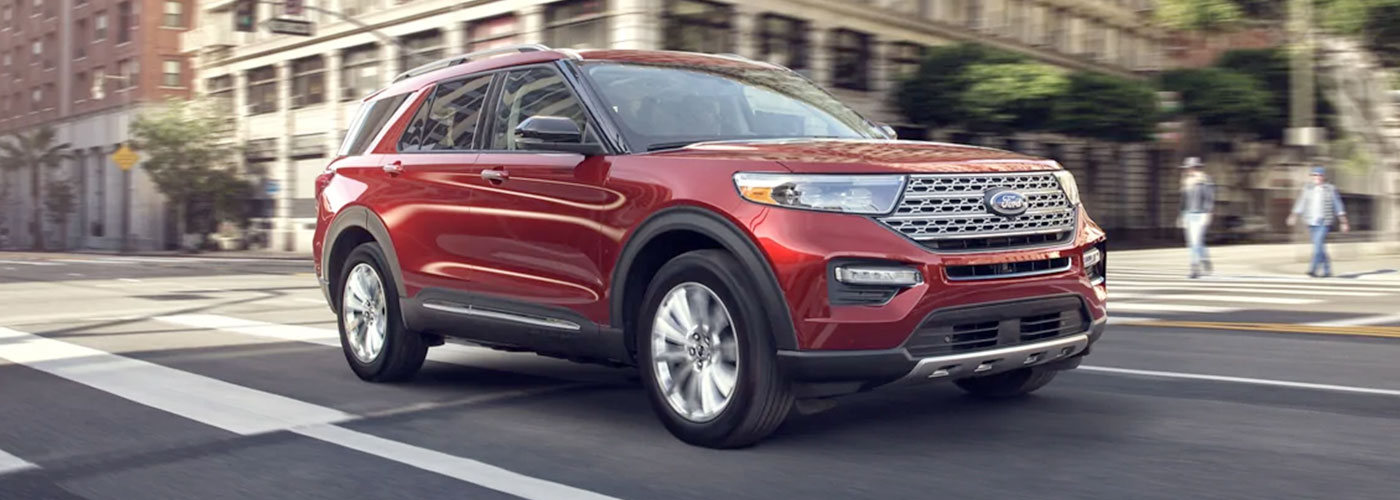 2021 Ford Explorer Limited HEADER