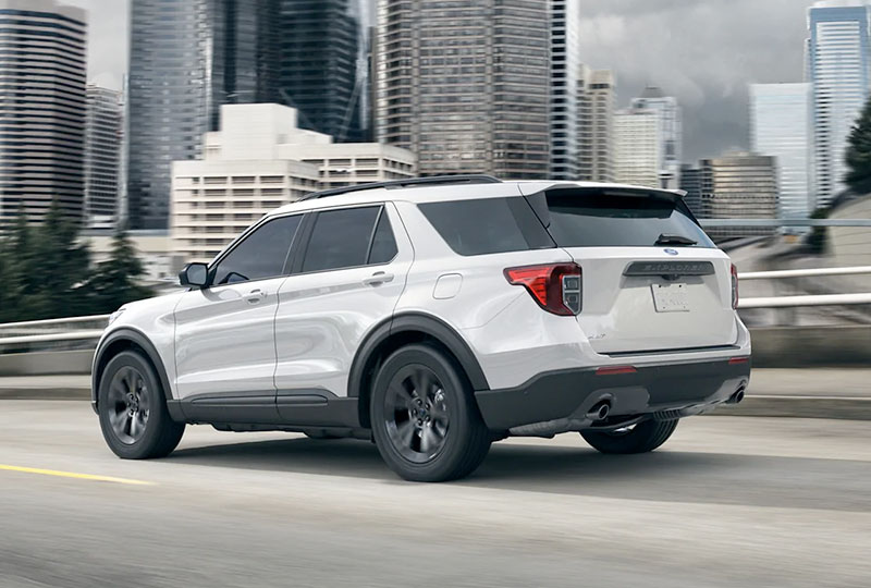 2021 Ford Explorer FLEXIBILITY