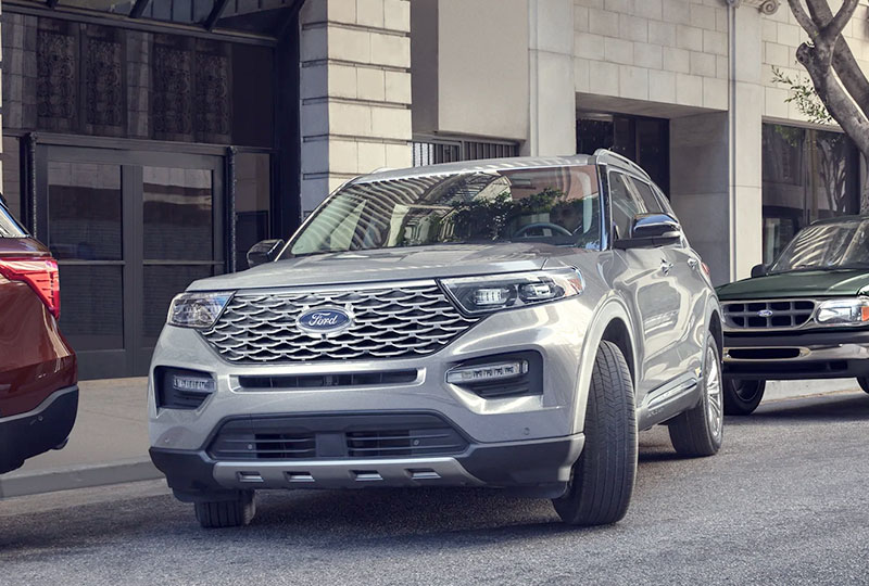 2021 Ford Explorer  TECHNOLOGY