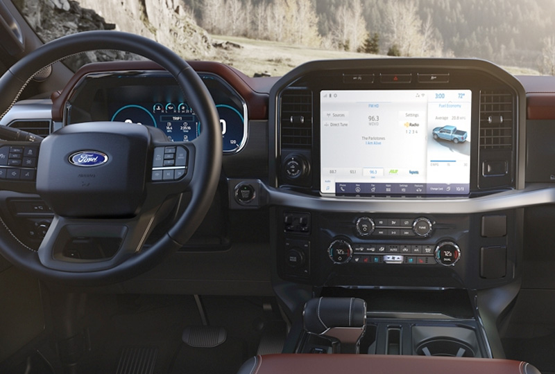 2021 Coming soon F-150 ALL-NEW INTERIOR