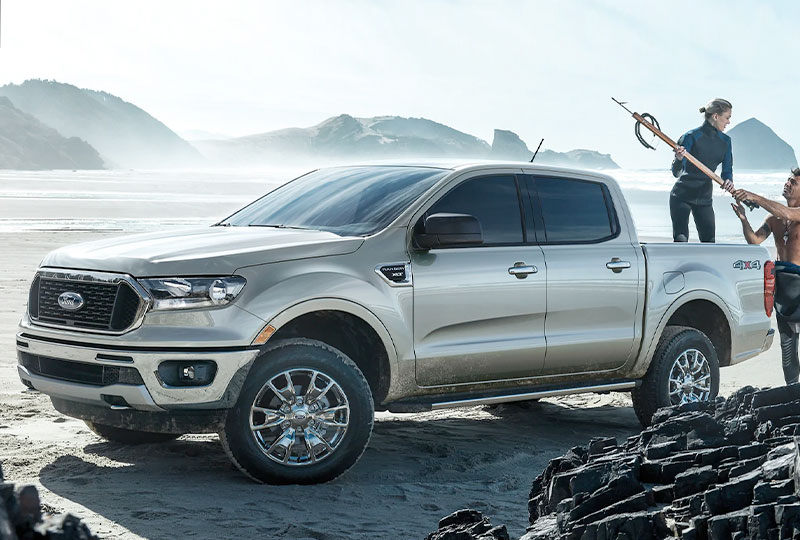 2021 Ford Ranger   Design