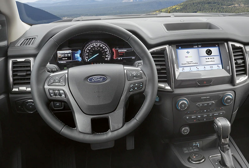 2021 Ford Ranger  Technology
