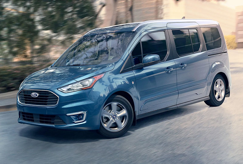 2021 Ford Transit Connect   Safety