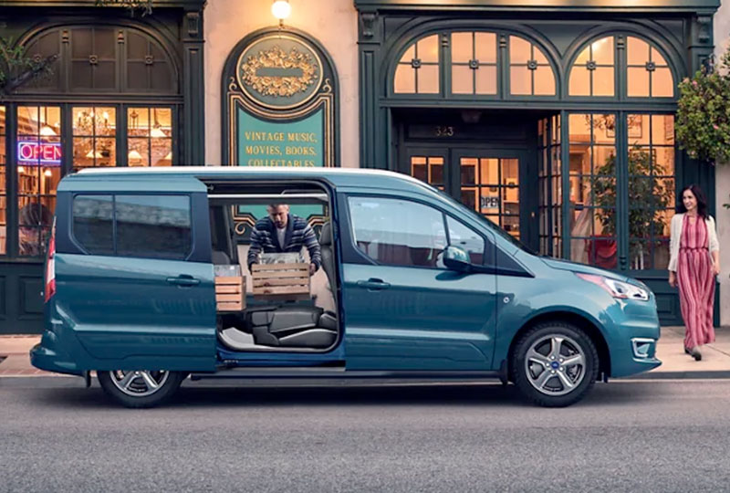 2021 Ford Transit Connect   Convenience