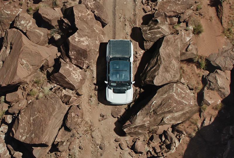 2020 GMC Hummer EV off road