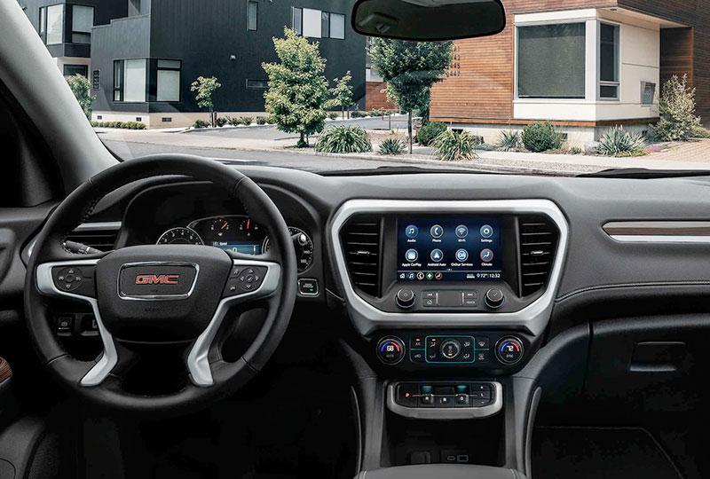 2021 GMC Acadia DRIVER-CENTRIC TECHNOLOGY