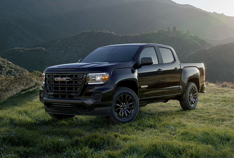 2021 GMC Canyon ELEVATED EXTERIOR
