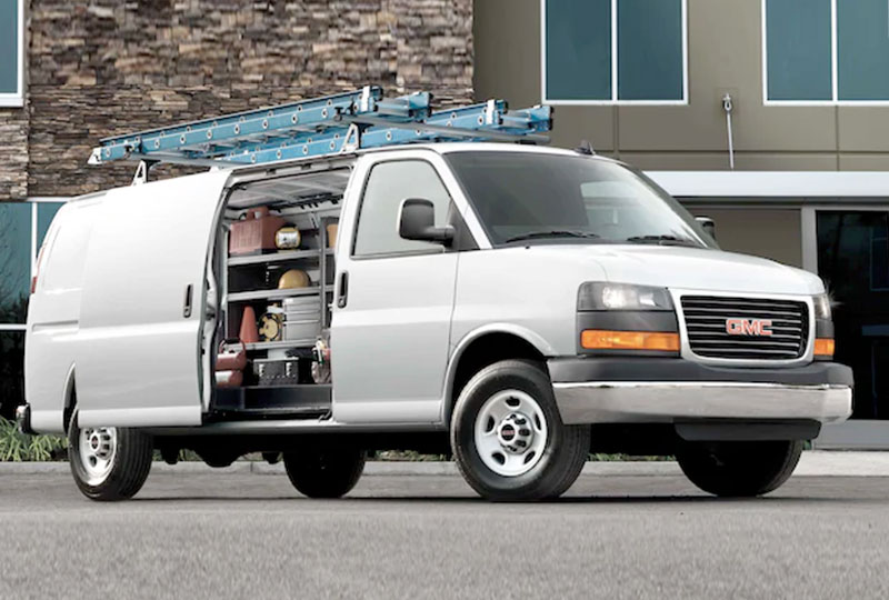 2021 GMC Savana Cargo  ACCESS YOUR CARGO LIKE A PRO