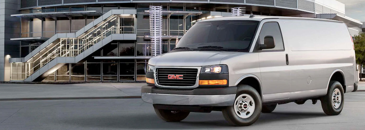 2021 GMC Savana Cargo  header