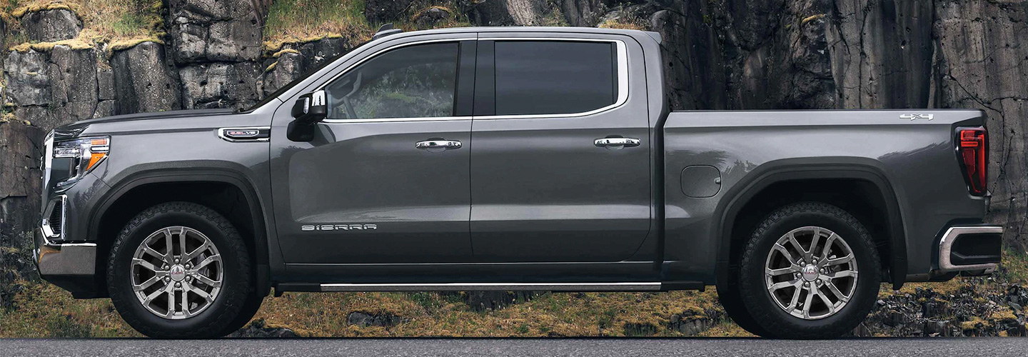 2021 GMC Sierra 1500 header