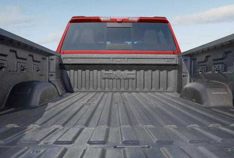 2021 GMC Sierra HD  BEST-IN-CLASS HEAVY-DUTY CARGO BED VOLUME