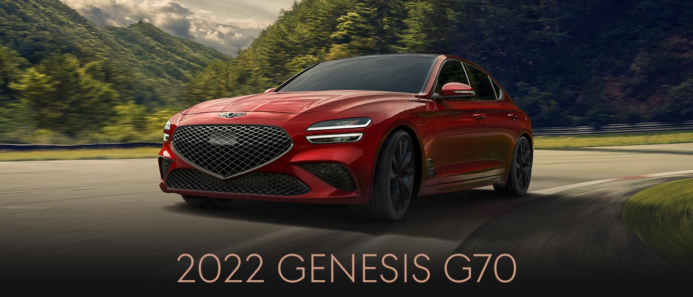 2022 Genesis G70   HEADER