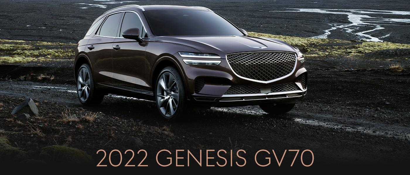 2022 Genesis GV70   HEADER
