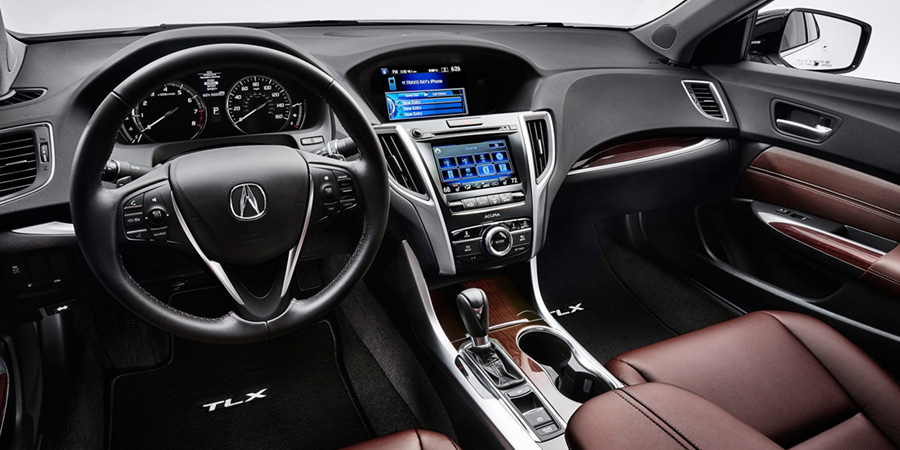 2017 Acura TLX Perforated Milano Leather Sport.