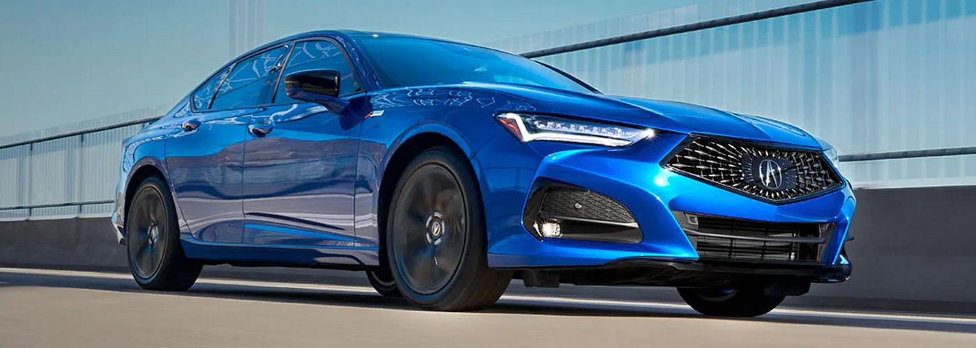 2021 Acura TLX header