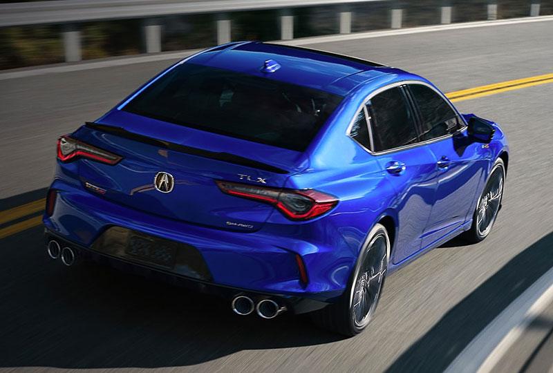 2021 Acura Type S   PERFORMANCE
