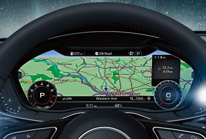 2017 Audi A4 Audi virtual cockpit