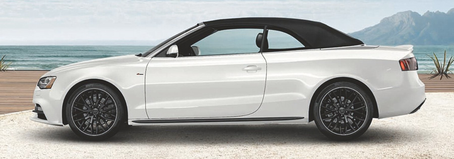 2017 Audi A5 Sport Cabriolet Provocative, even with the top on
