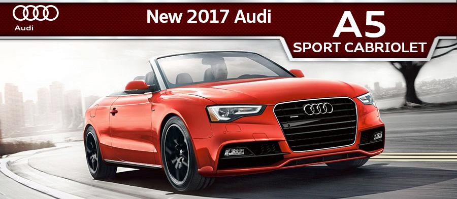 2017 Audi A5 Sport Cabriolet