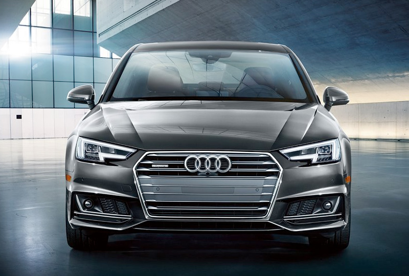 The sporty appearance of the A5 Coupe is bolstered by an available S line