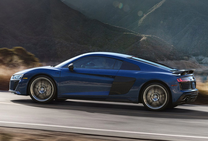 2020 Audi R8 Coupe safety