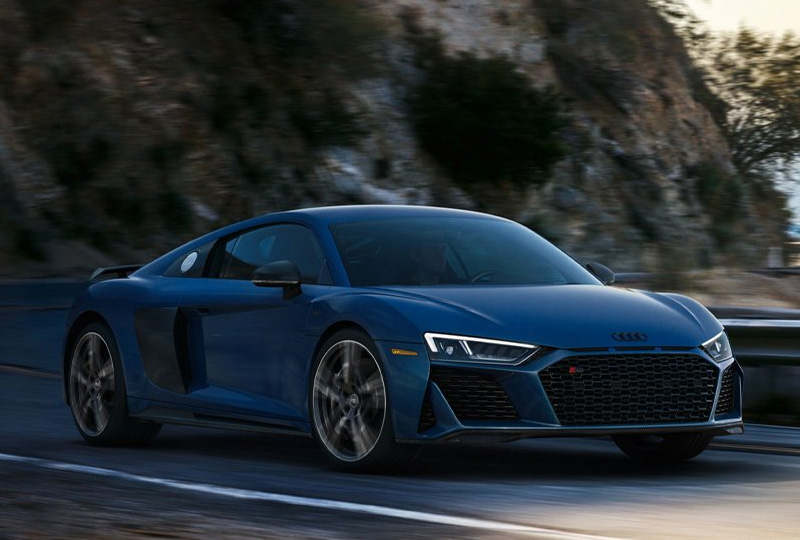 2020 Audi R8 Coupe technology