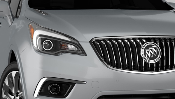 2017 Buick Envision-exterior-Scuplted headlamp