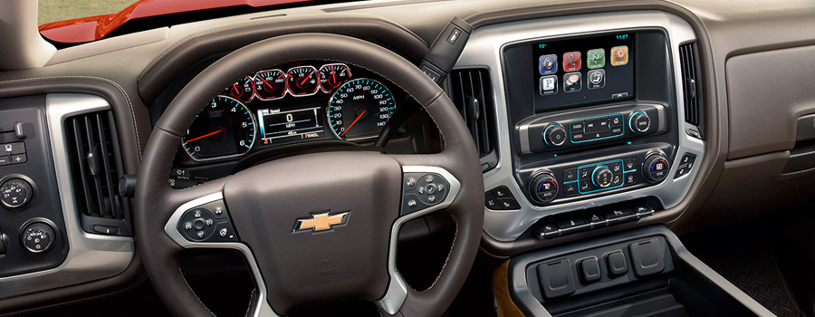 2017-chevrolet-Silverado 1500 technology