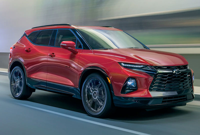 2020 Chevy Blazer Design