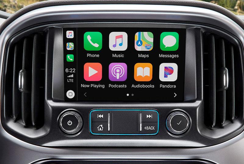 2020 Chevy Colorado Technology