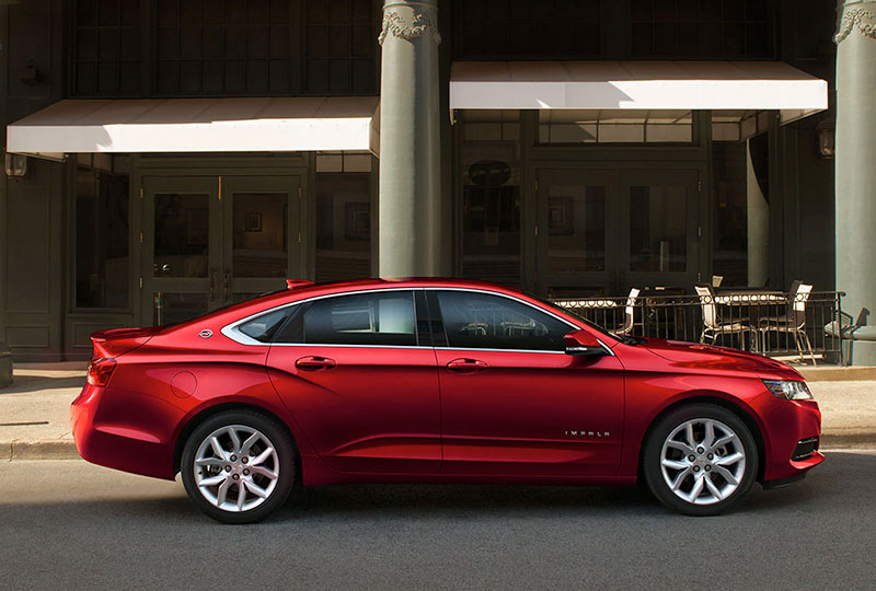2020 Chevy Impala Design