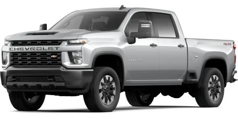 2020 Silverado HD Custom
