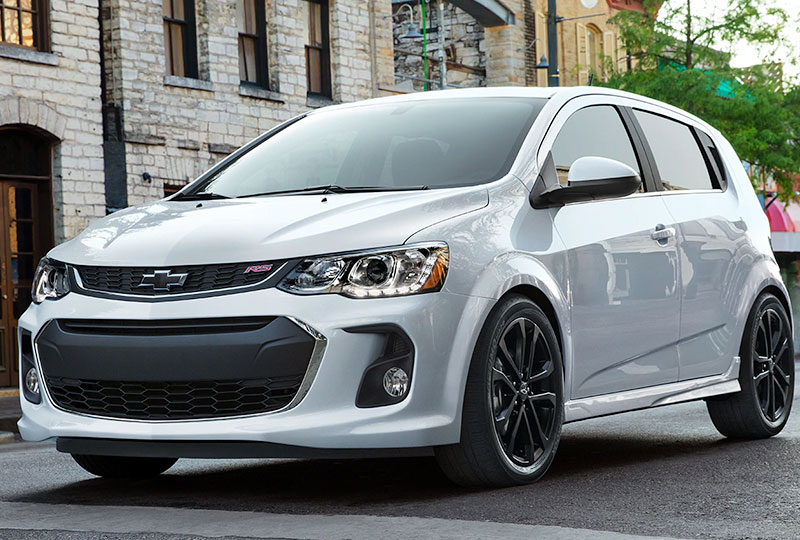 2020 Chevy Sonic Design