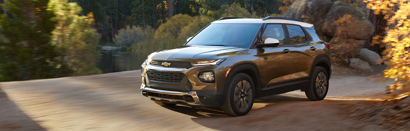 2020 Chevy Trailblazer header