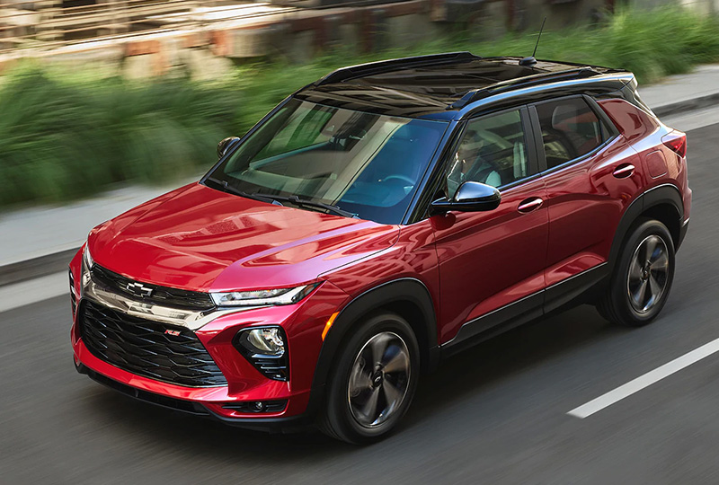 2020 Chevy Trailblazer Safety