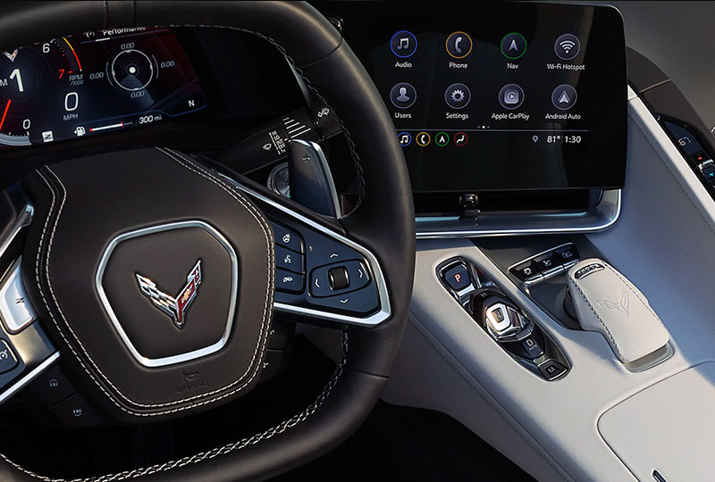 2020 Chevy Corvette Technology