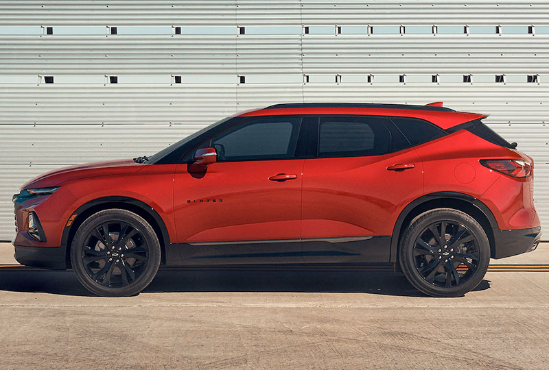 2021 Chevy Blazer Design