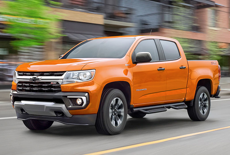2021 Chevy Colorado Design
