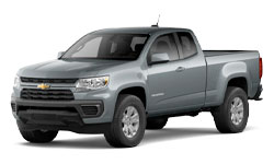 2021 Chevy Colorado trims
