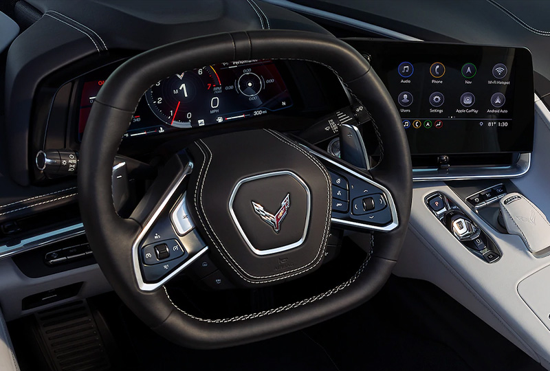 2021 Chevy Corvette Technology