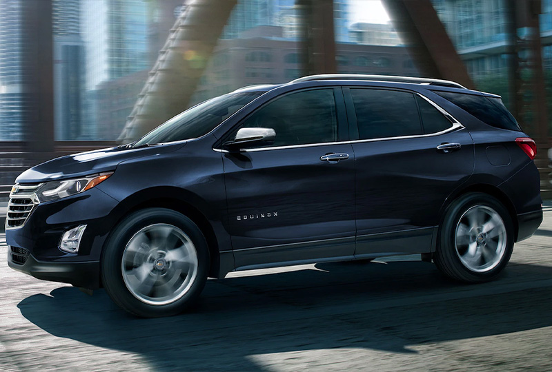 2021 Chevy Equinox Every time you set out, you stand out.