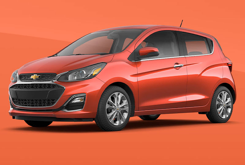 2021 Chevy Spark Design
