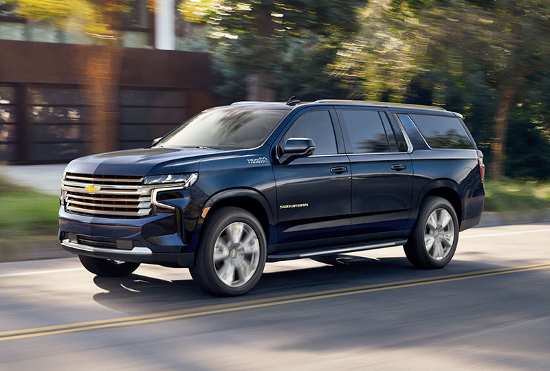 2021 Chevy Suburban Safety