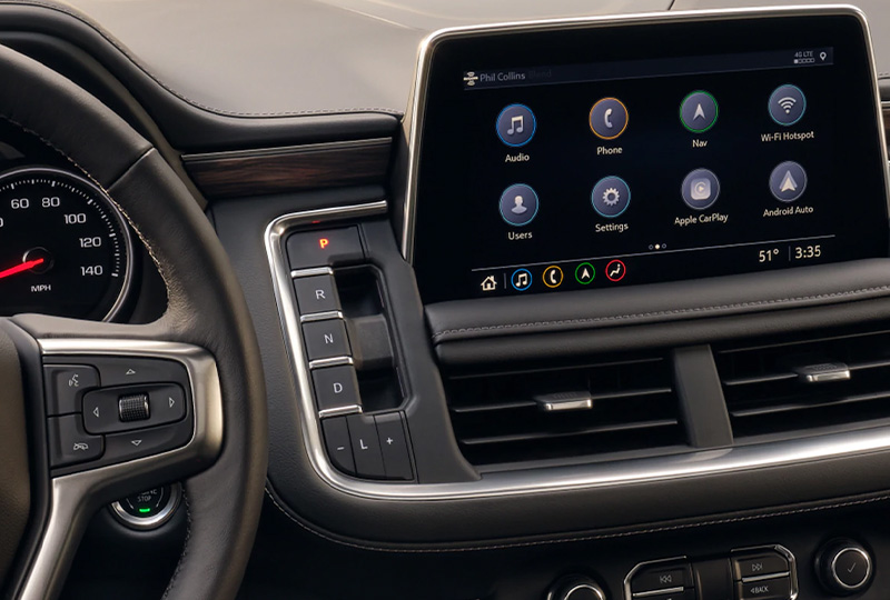 2021 Chevy Tahoe Technology