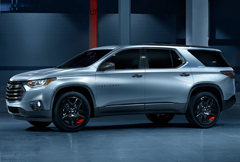 2021 Chevy Traverse  Design