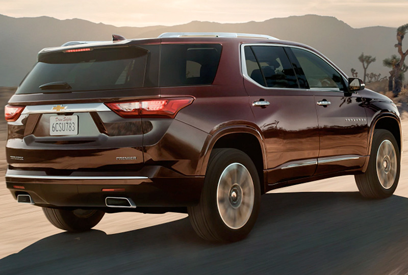 2021 Chevy Traverse  Performance